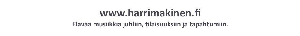 Trubaduuri Harri Mäkinen.