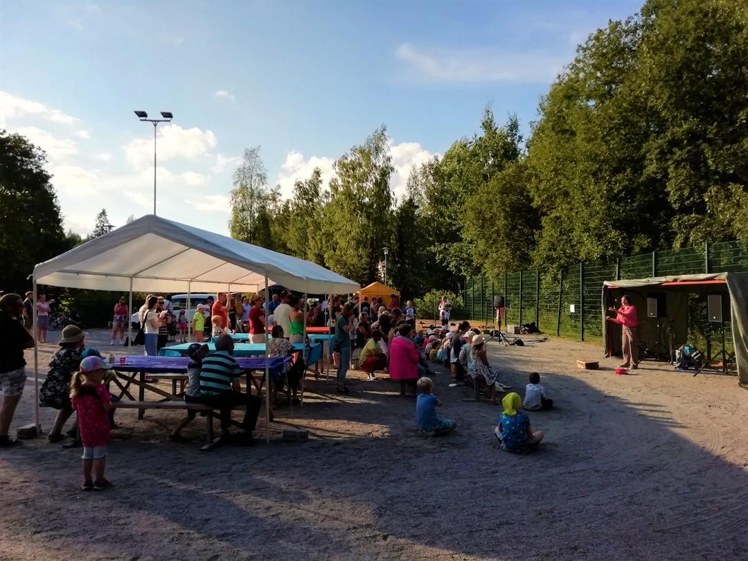 Juhlat Tampereella.